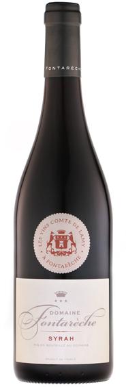 Grand vin rouge corbieres syrah fontareche